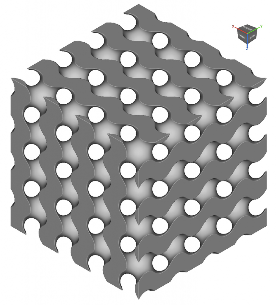 Designing Lattice Structures for Biologically-Relevant