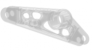 toolpath generation for additive manufacturing of topology optimization bracket