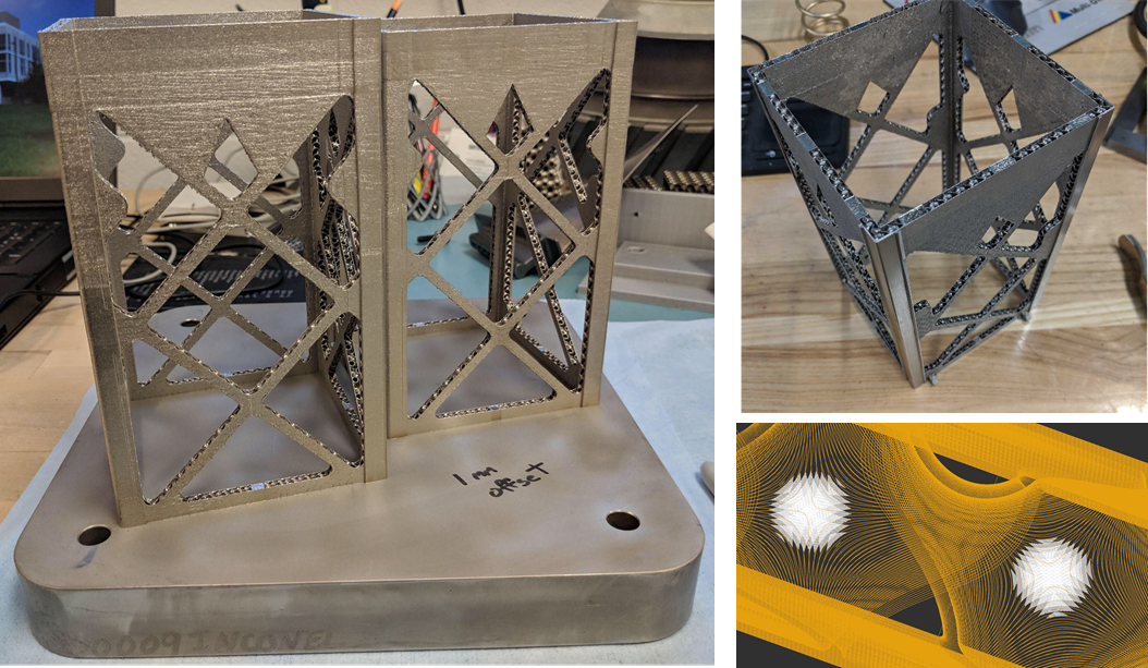 CubeSat Manufactured prototype with Additive Manufacturing